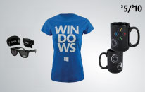 $5 off Microsoft apparel and gifts