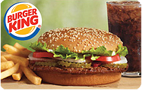 $5 Burger King eGift