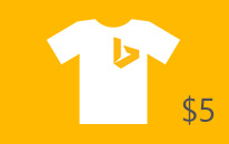 $5 off Bing and Microsoft apparel, gear, and more