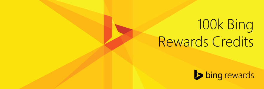... bing rewards credits what would you do with 100k bing rewards credits