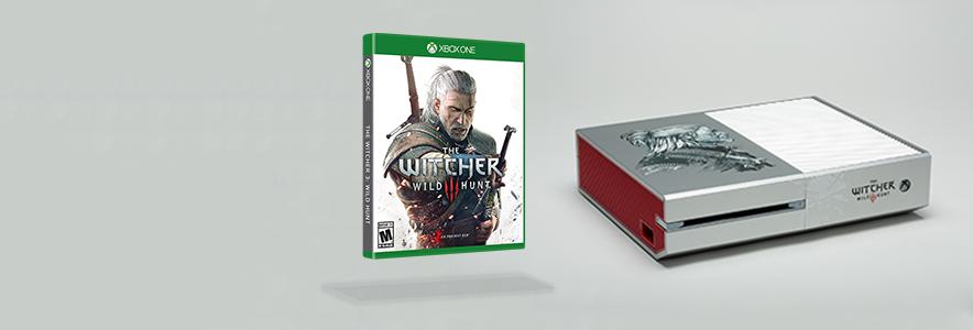 Win a custom witcher 3 wild hunt console